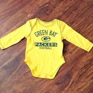 Green Bay packers onesie